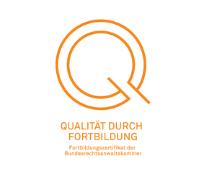 Qualität durch Fortbildung Logo
